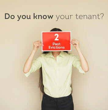 Tenant screening for past evictions is important